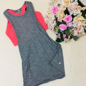 Lululemon tank with attached sports bra